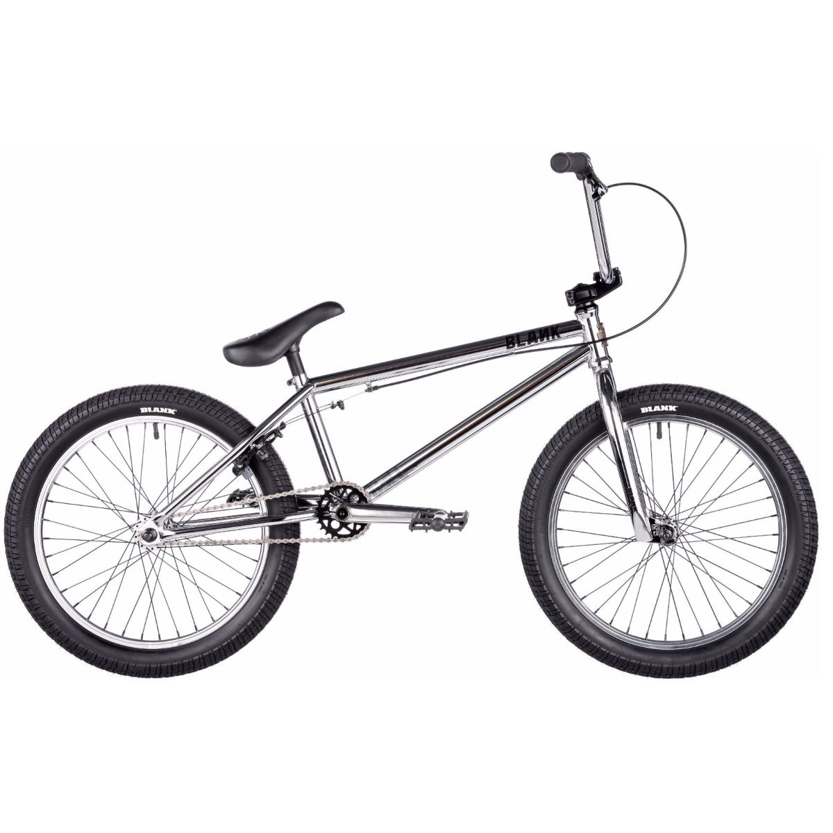 BMX Blank Cell (2017) - One Size Stock Bike Chrome BMX Street