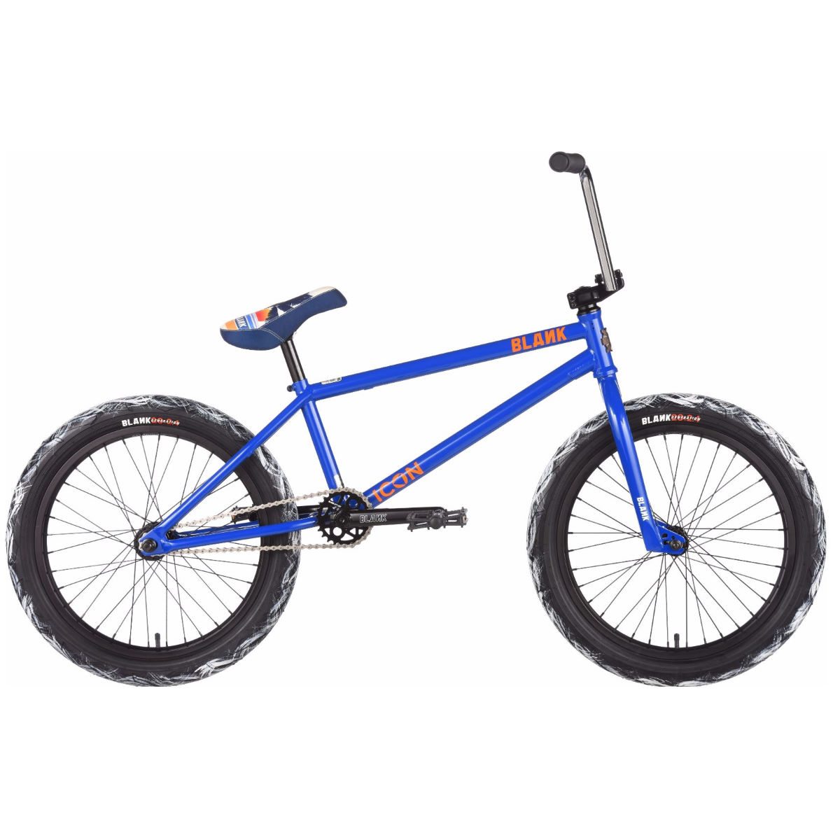 BMX Blank Icon (2017) - One Size Stock Bike Gloss Blue BMX Street