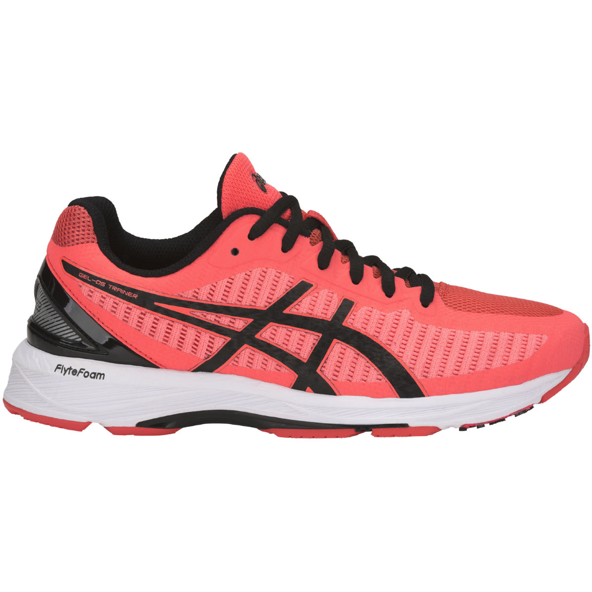 Chaussures Femme Asics Gel-DS Trainer 23 - UK 5 FLASH CORAL/BLACK/CO