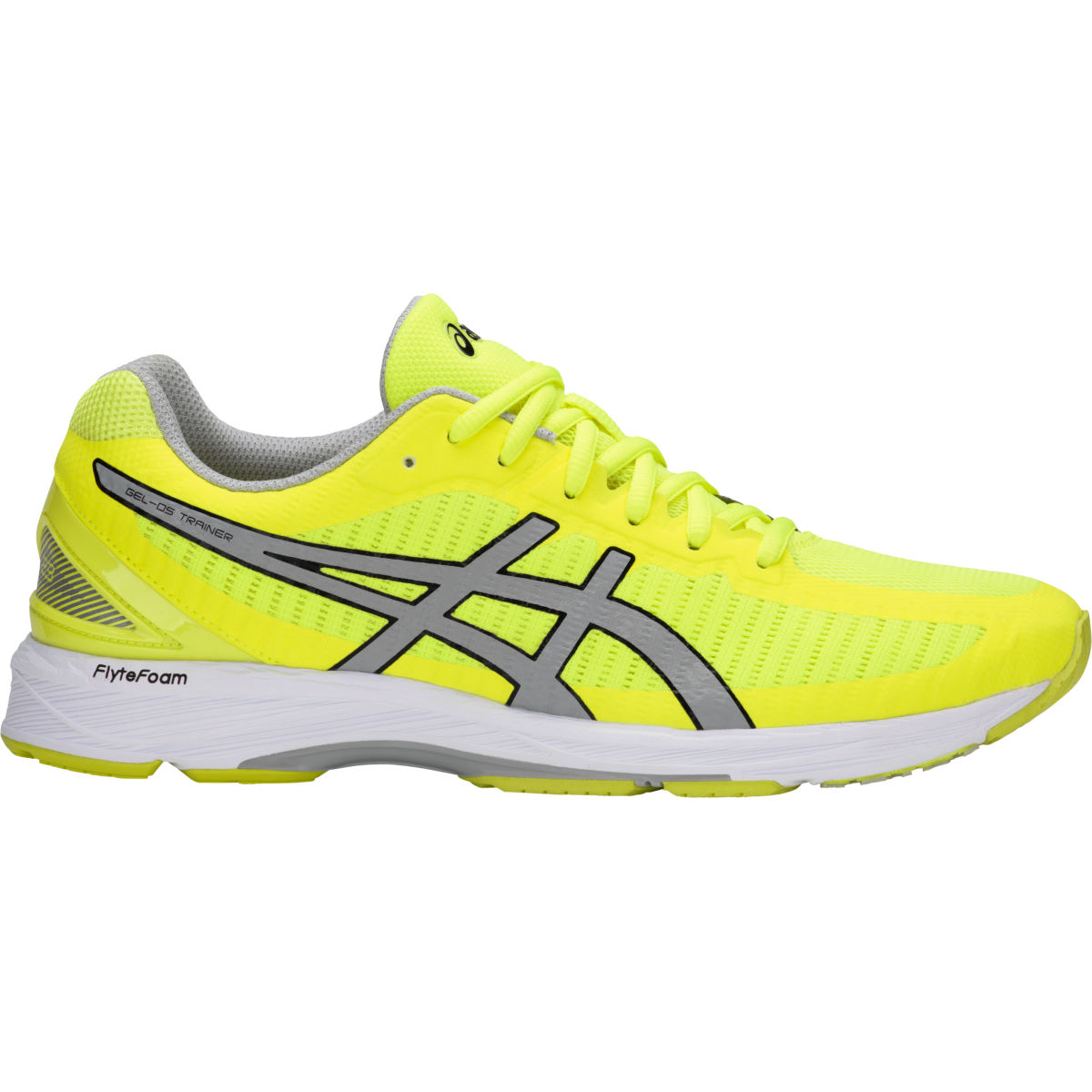 Chaussures Asics Gel-DS Trainer 23 - UK 8.5 SAFETY YELLOW/MID GR