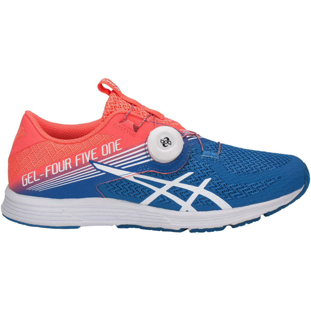 Chaussures Femme Asics Gel-451 - UK 4 FLASH CORAL/WHITE/DI