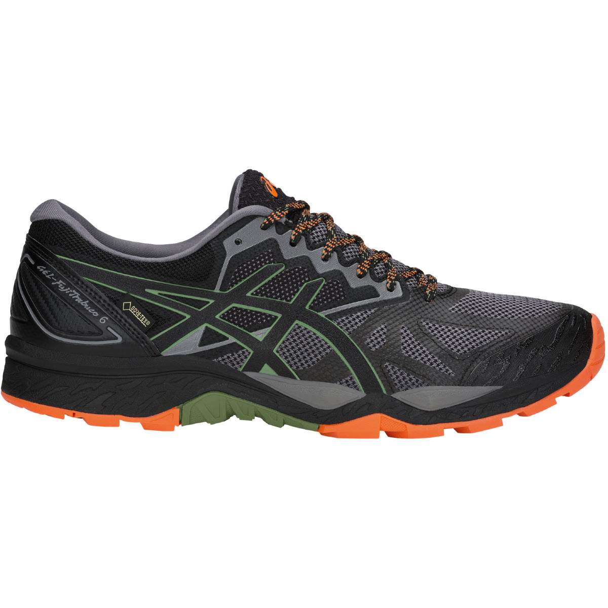 Chaussures Asics Gel-Fujitrabuco 6 GTX - UK 7 Carbon/Black