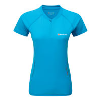 Montane Womens Snap Zip T-Shirt