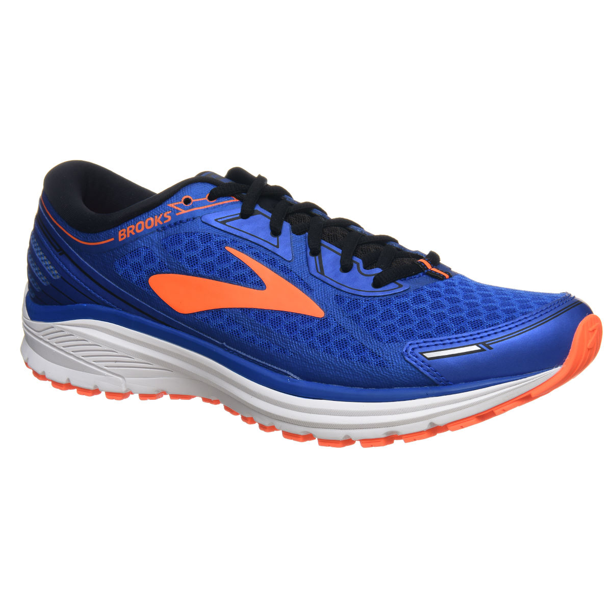 Chaussures Brooks Aduro 5 - UK 9 Blue/Orange Chaussures de running