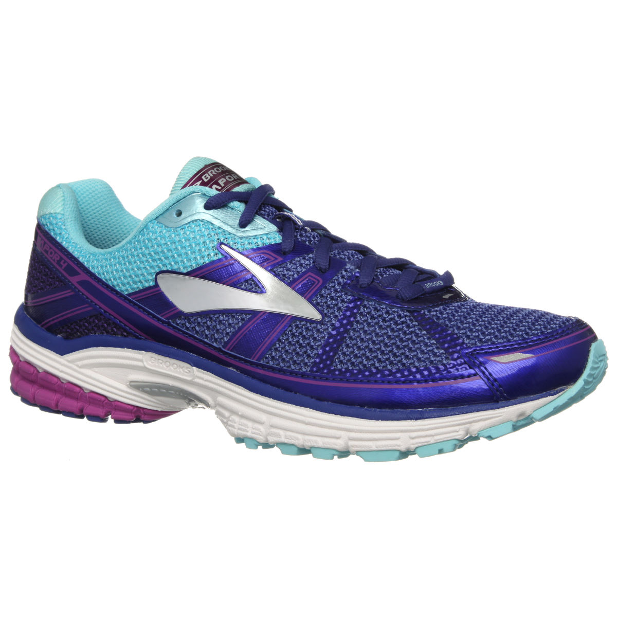 Chaussures Femme Brooks Vapor 4 - UK 4 HyacinthViolet/Peaco