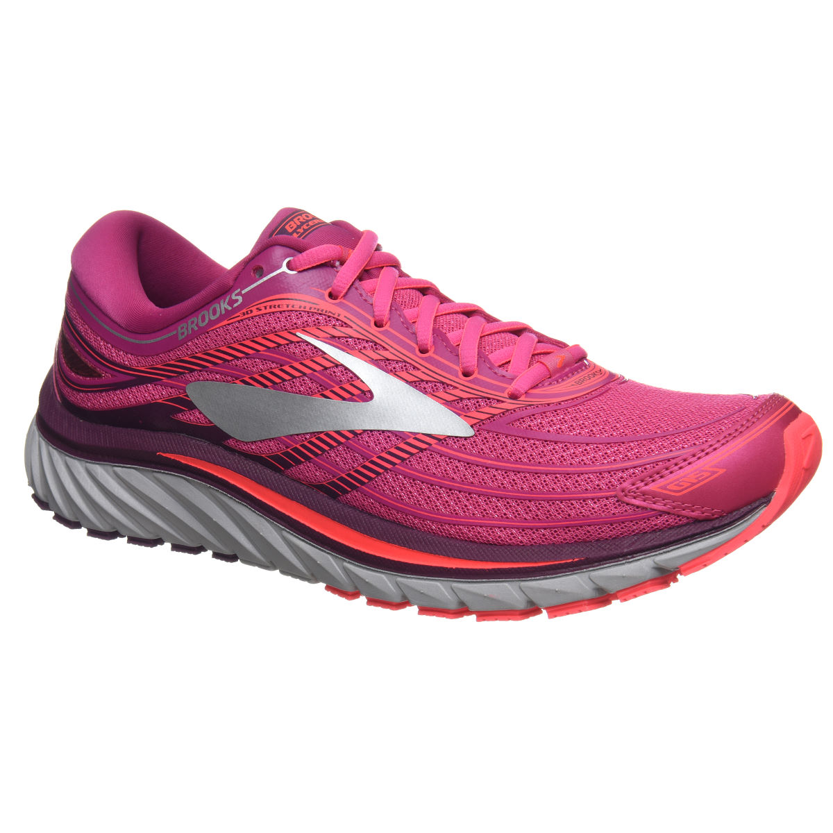 Chaussures Femme Brooks Glycerin 15 - UK 4 Pink/Silver