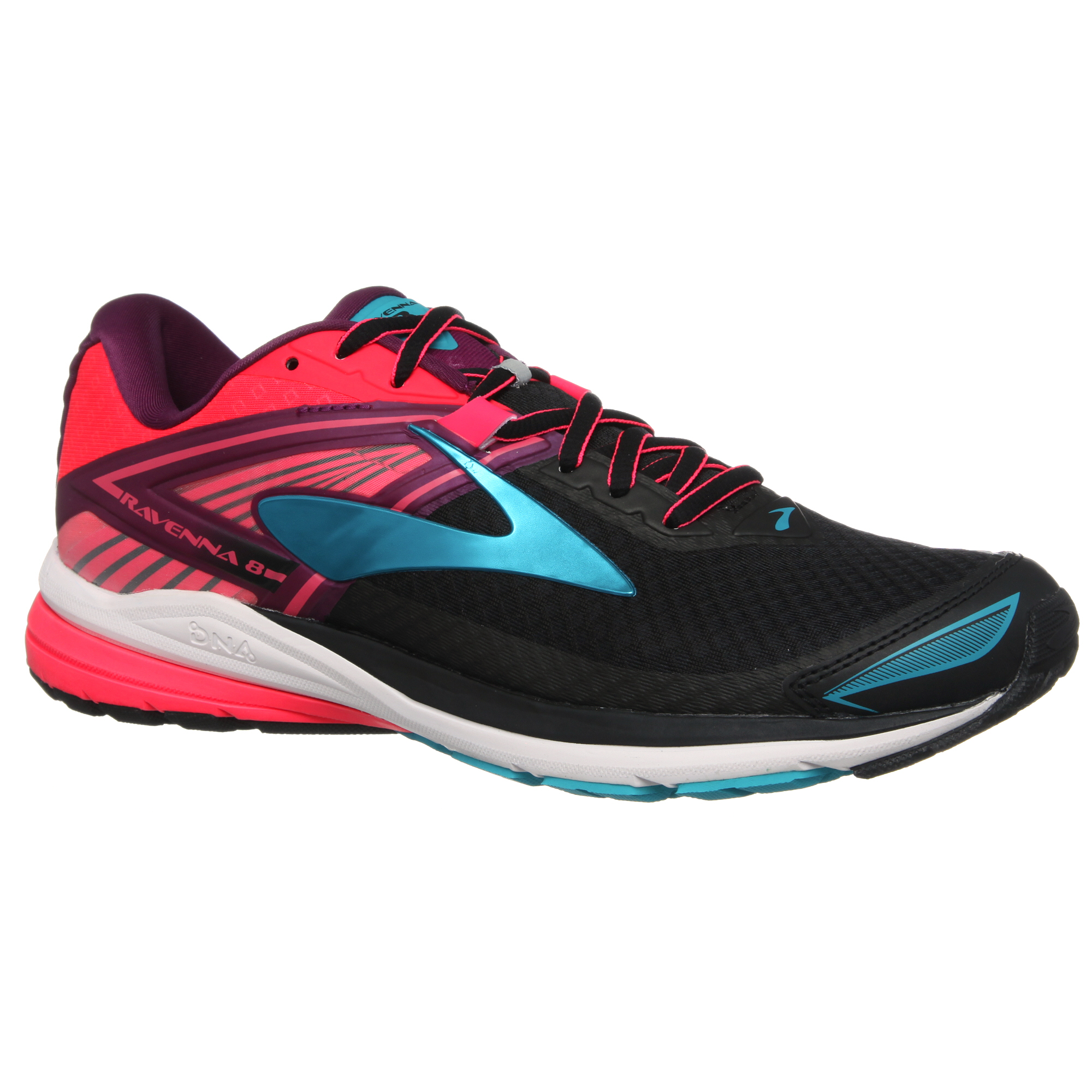 View in 360° 360° Play video. 1. /. 1. 360°. The Brooks Women's Ravenna 8  is a responsive and comfortable daily running shoe.