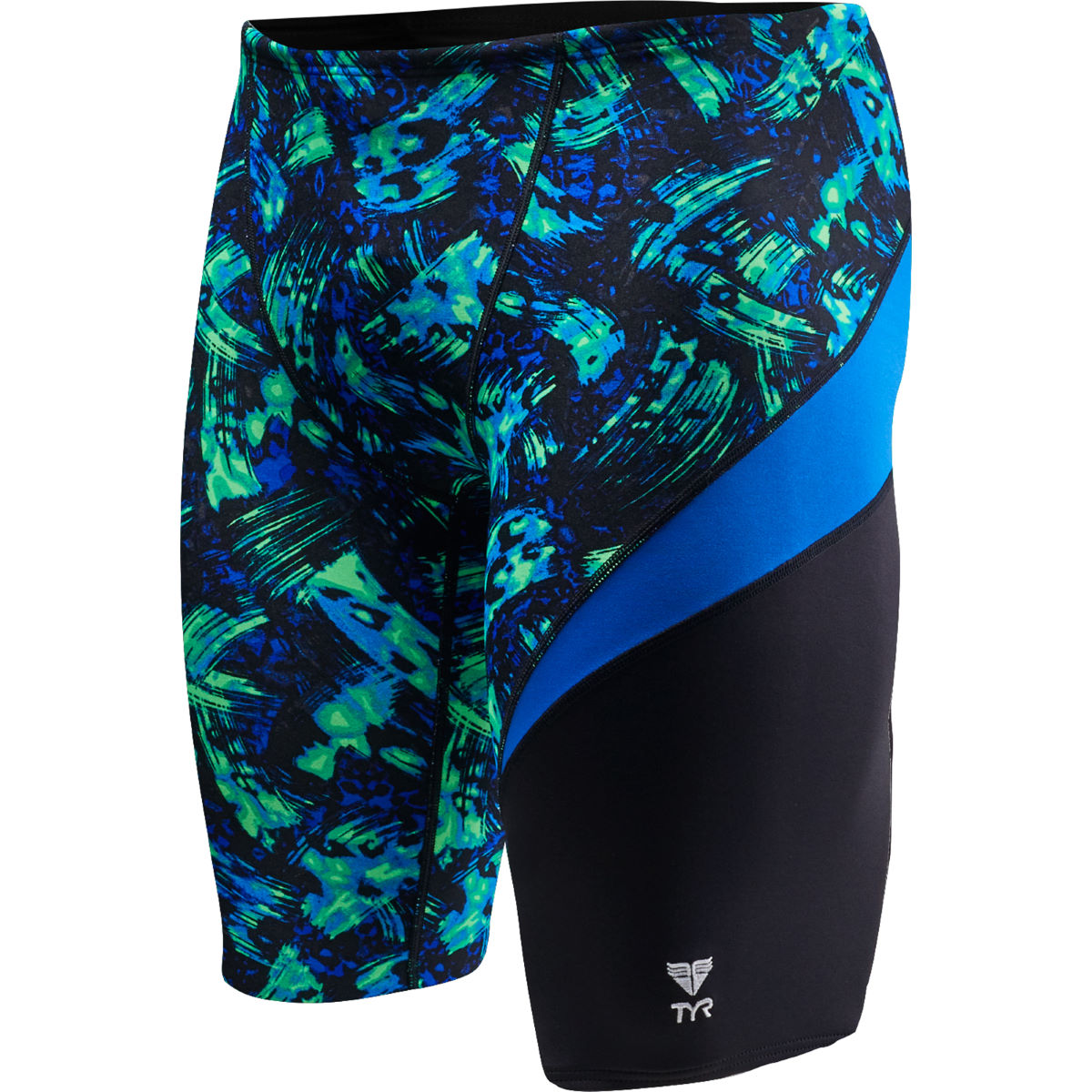 Jammer TYR Emulsion Wave - 26'' Blue/Green Maillots de bain Adulte