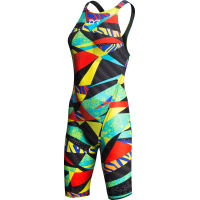 Maillot de bain Femme TYR Avictor Prelude Race (dos ouvert, jambes longues)