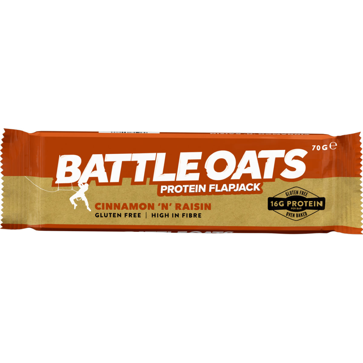 Barritas flapjack Battle Oats (12 x 70g) - Snacks
