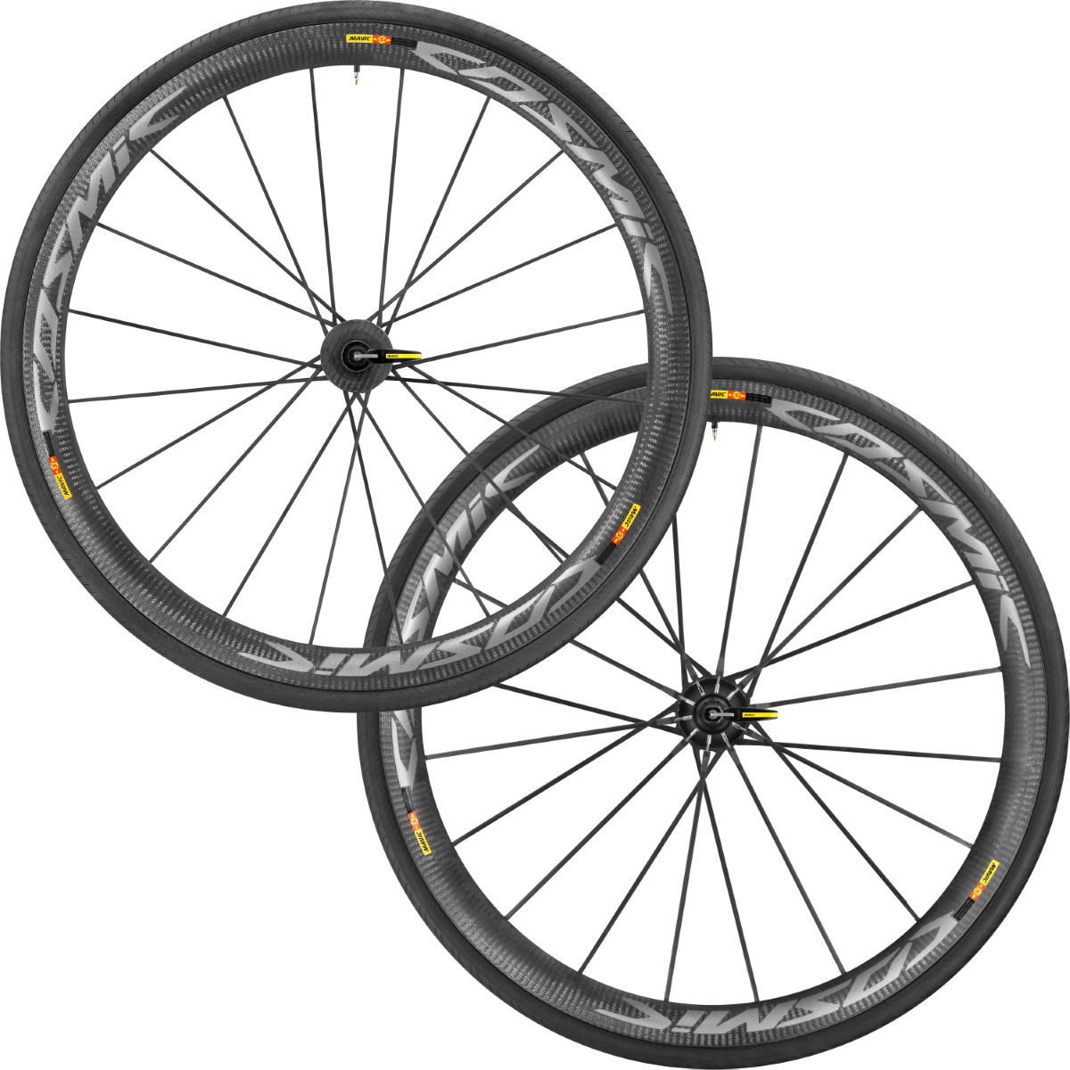 Paire de roues de route Mavic Cosmic Ultimate - 700c Shimano/SRAM