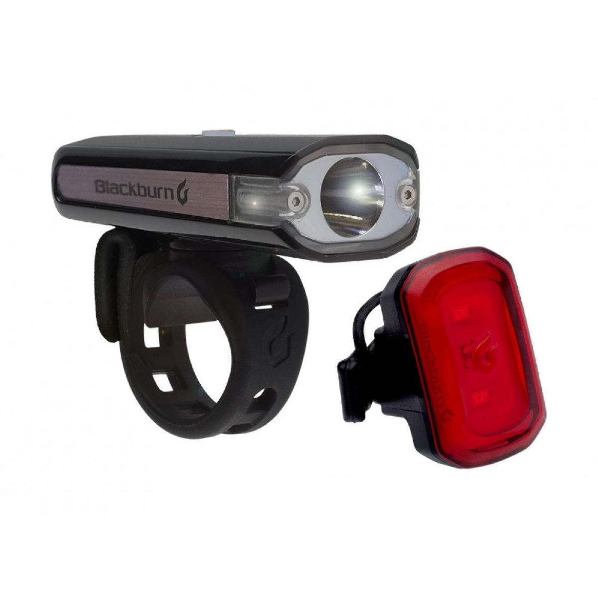 Blackburn Central 200 Front and USB Rear Light Set - Juegos de luces