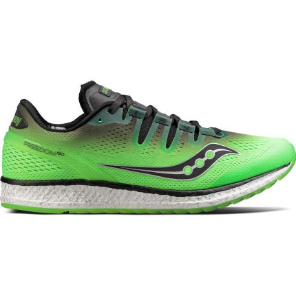 Saucony Freedom ISO Shoes Green/Black UK 9.5