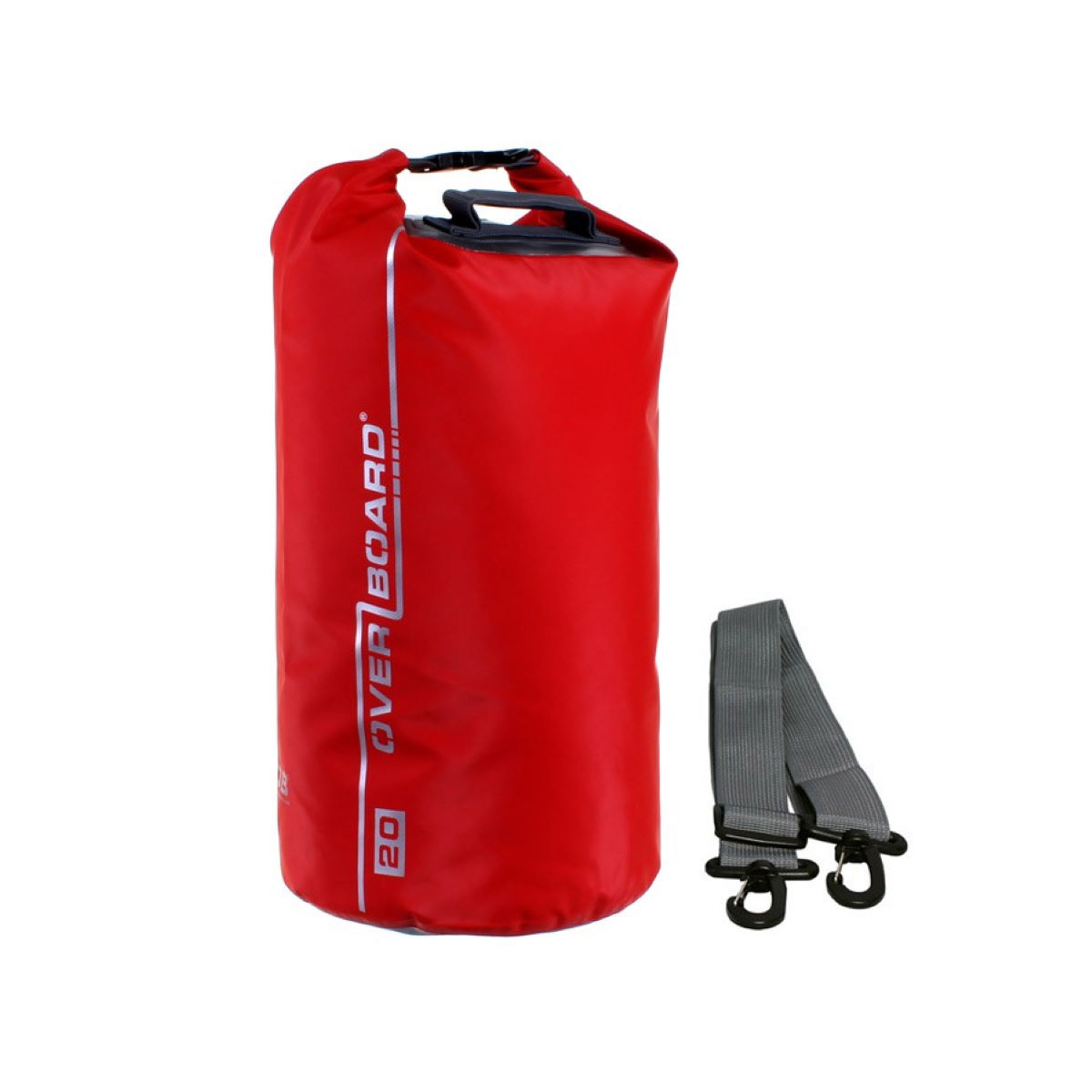 Sac Overboard Dry Tube (20 litres) - 20 Litres Red Sacs de voyage