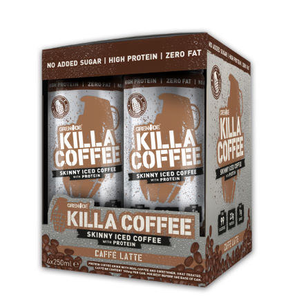 Grenade Killa Coffee (4x250ml) BBF 18/04/2018