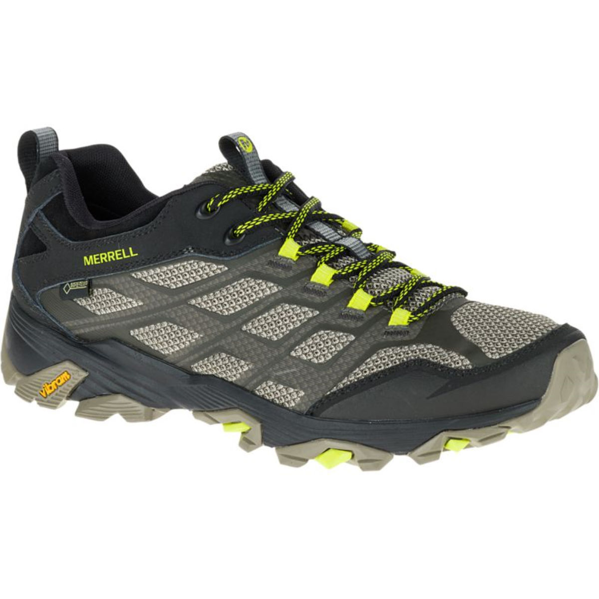 Chaussures Merrell MOAB FST GTX - 10 Olive Black Chaussures