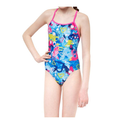Maru Girl's Heart and Soul Fly Back Swimsuit