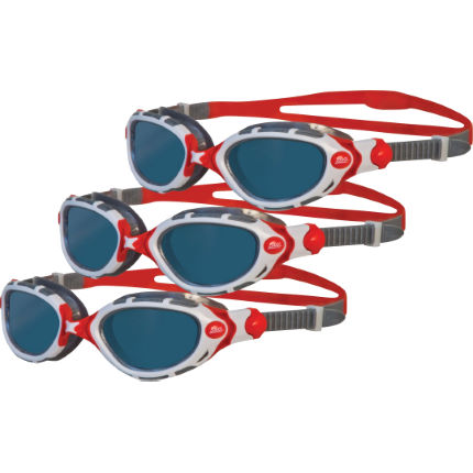 Zoggs Predator Flex Polarised Goggles Bundle of Three