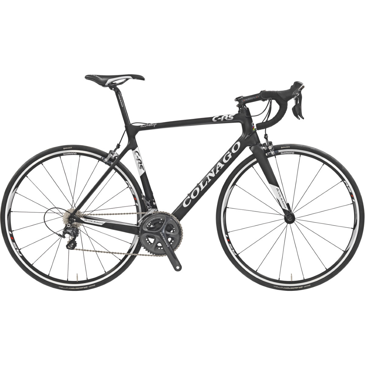 Vélo de route Colnago C-RS Ultegra - 46cm Stock Bike Blanc/Rouge