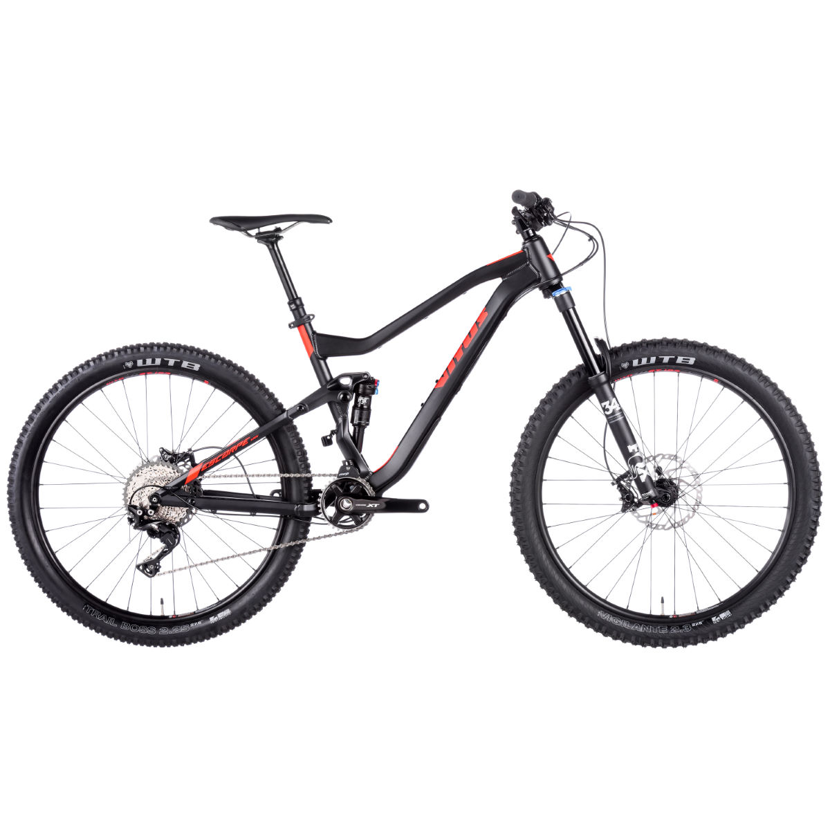 VTT tout suspendu Vitus Escarpe VRX (XT 1x11, 2017) - 15'' Stock Bike