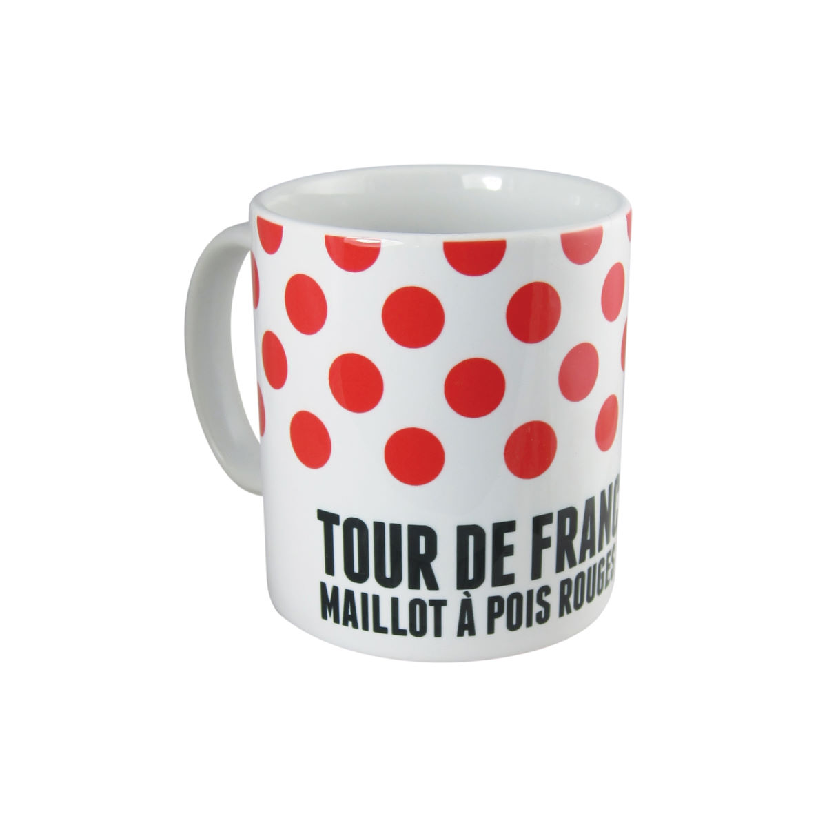 Tasse Velolove Tour De France Maillot A Pois Rouge - One Size Rouge