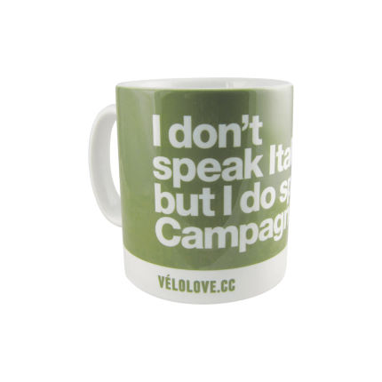 Velolove I don't speak Italian but I do speak Capagnolo Mug
