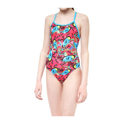 Maru Girl's Bounce Pacer Fly Back Swimsuit
