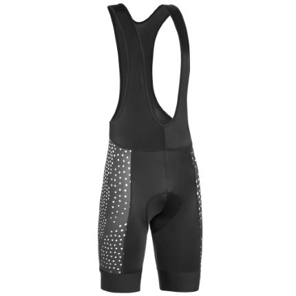dhb Blok fietsbroek met bretels (zwart/wit, limited edition)