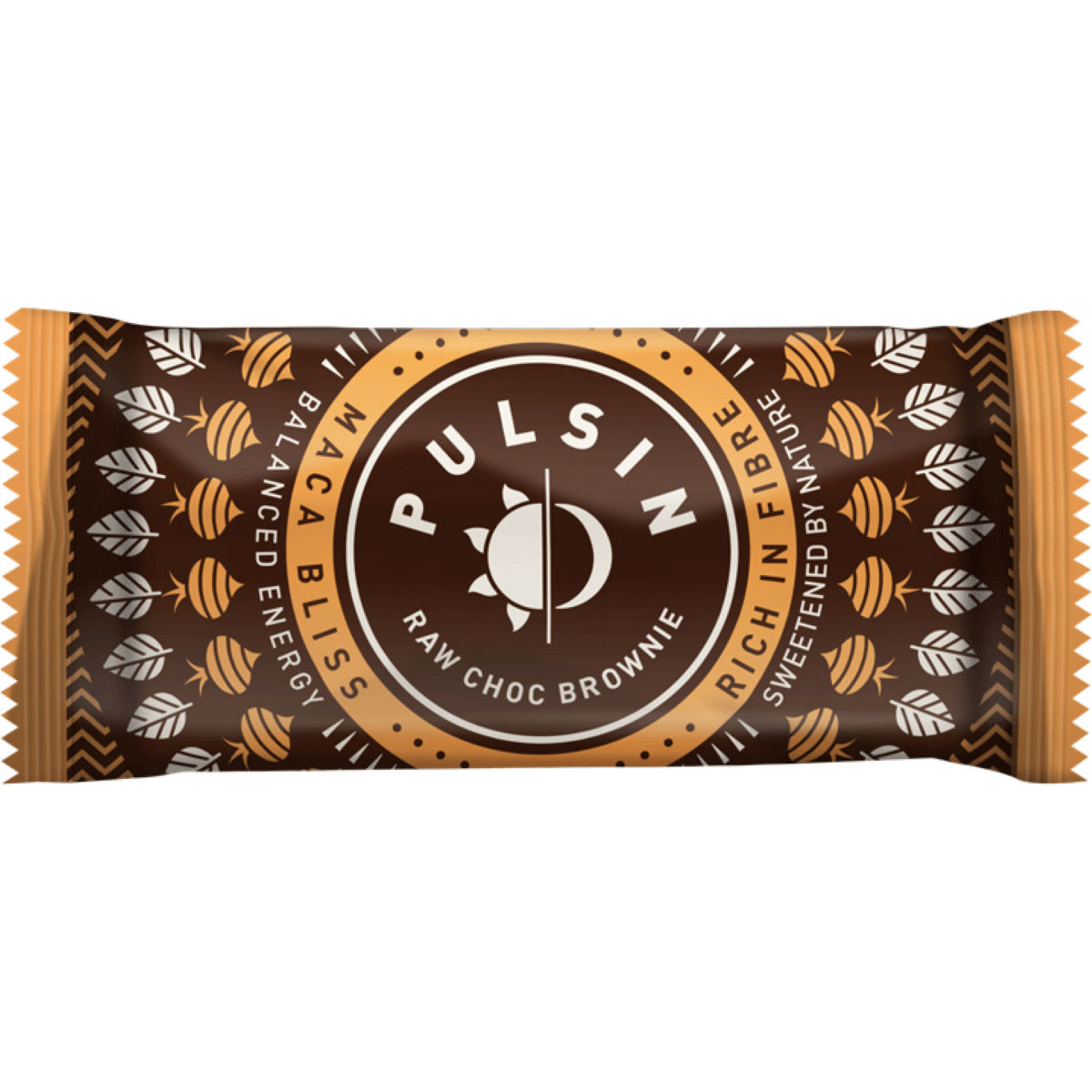 Pulsin Raw Chocolate Brownine Energy Bars 18 x 50g - Barritas