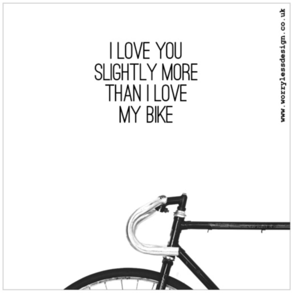 Worry Less Designs Love You MY Greeting Card - Gaveideer