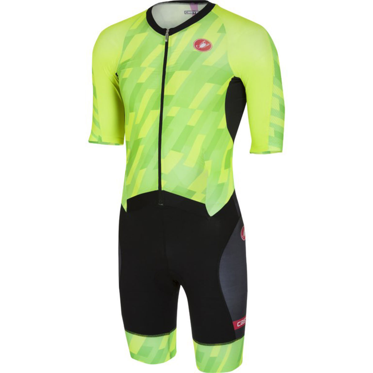 Trifonction Castelli All Out Speed Pro - L pro green/black