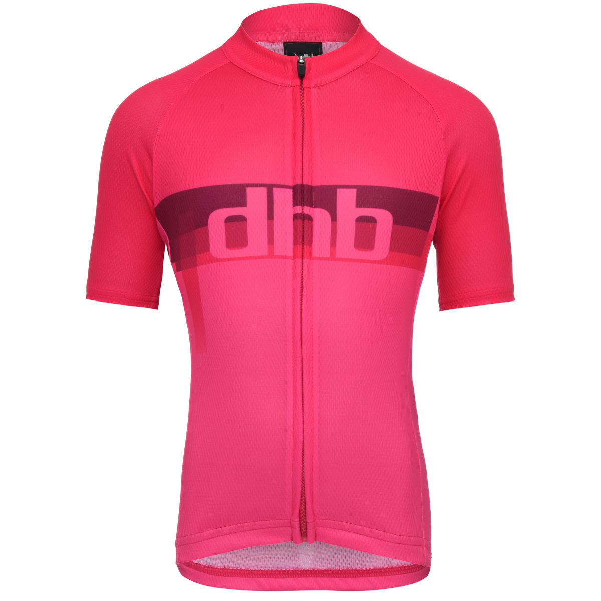Maillot Enfant dhb Blur (manches courtes) - 12-14 Years Pink/Pink