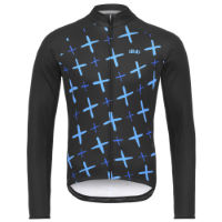 Blok Long Sleeve Jersey - Crosses