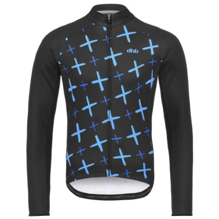 dhb Blok Long Sleeve Jersey - Crosses