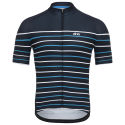 dhb Classic Short Sleeve Jersey - Breton Navy/Red S