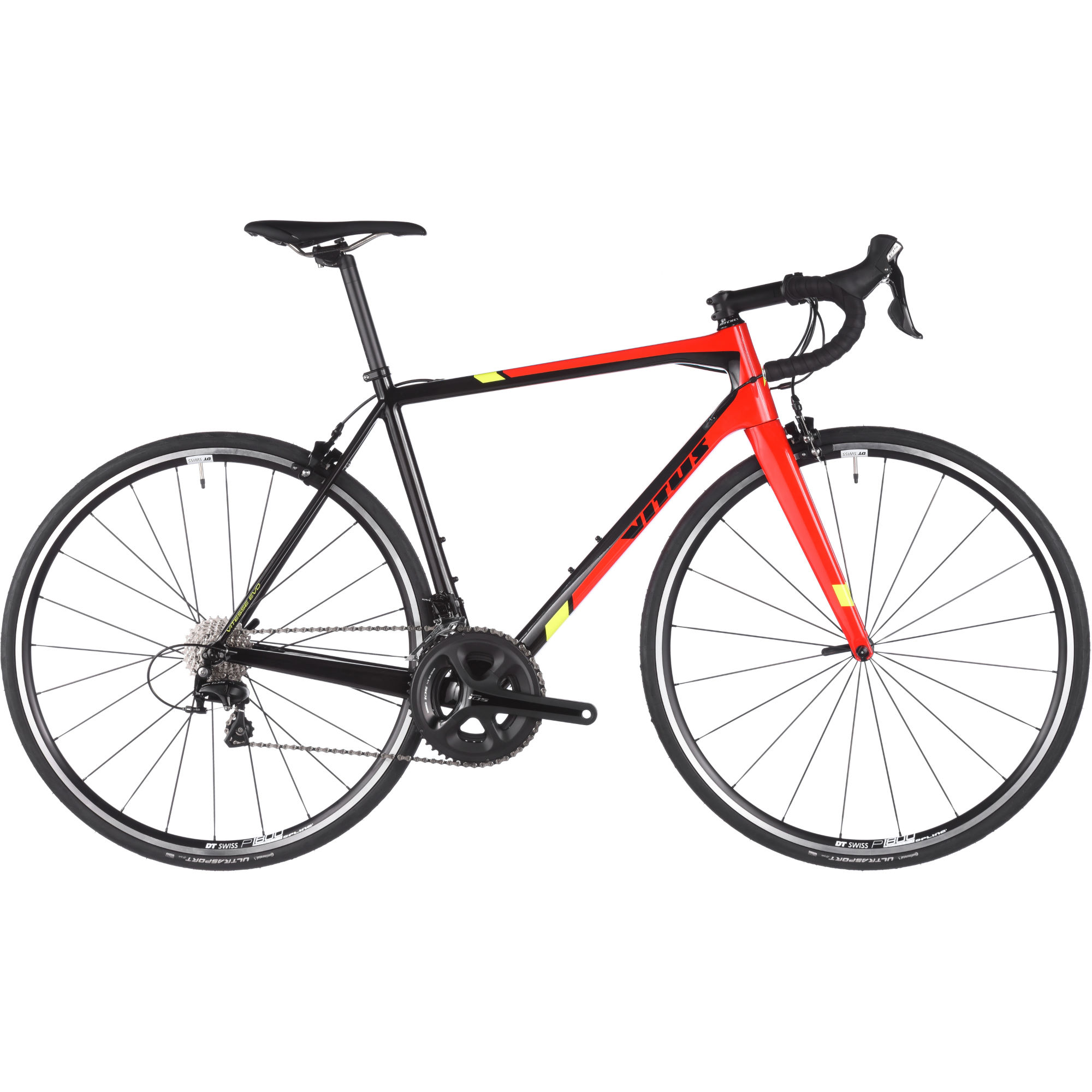 v los de route comp tition vitus bikes vitesse evo 105 2018 road bike wiggle france. Black Bedroom Furniture Sets. Home Design Ideas