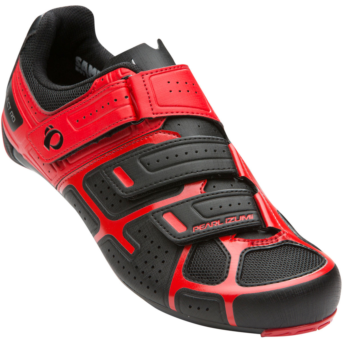Chaussures de route Pearl Izumi Select RD IV - 45 Black/True Red
