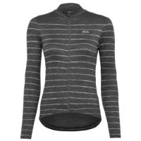 dhb Classic Womens Long Sleeve Jersey - Breton Grey U