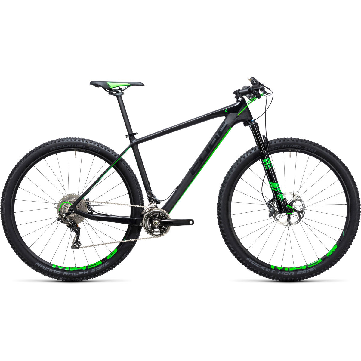 VTT semi-rigide Cube Elite C:68 Race 29 pouces (2017) - 21'' Stock Bike