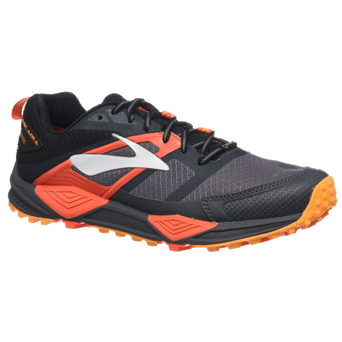 Chaussures Brooks Cascadia 12 GTX - UK 7 Noir/Rouge