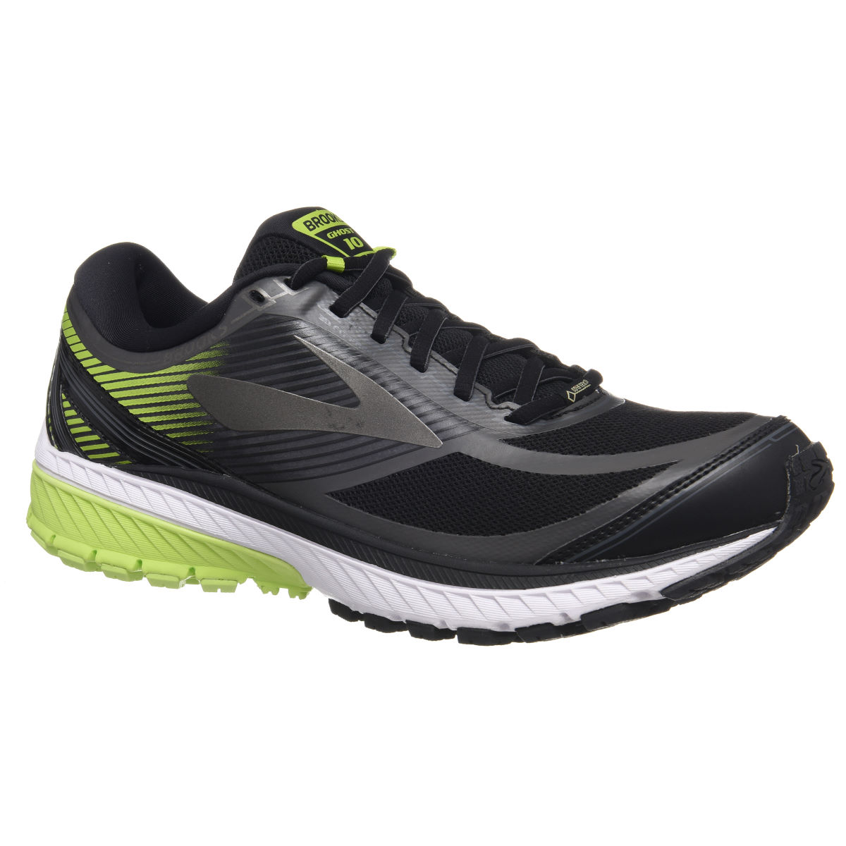 Chaussures Brooks Ghost 10 GTX - UK 7 Noir/Noir