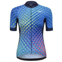 dhb Blok Speed Womens Short Sleeve Jersey - Velocity