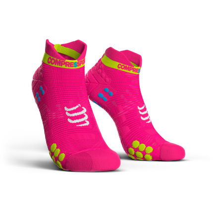 Socquettes Compressport Racing V3.0 Run Lo