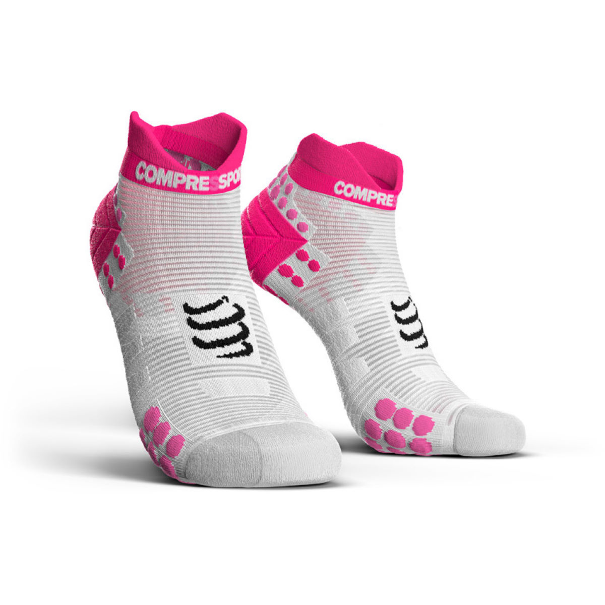 Calcetines de corte bajo Compressport Racing V3.0 Run - Calcetines