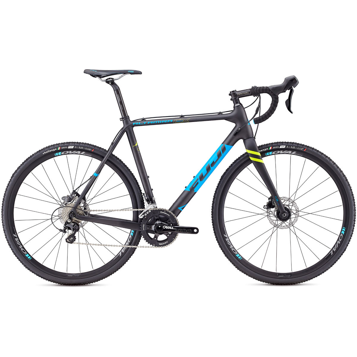 Vélo Fuji Altamira CX 1.5 (2017) - 54cm (21.25'') Stock Carbon/Cyan