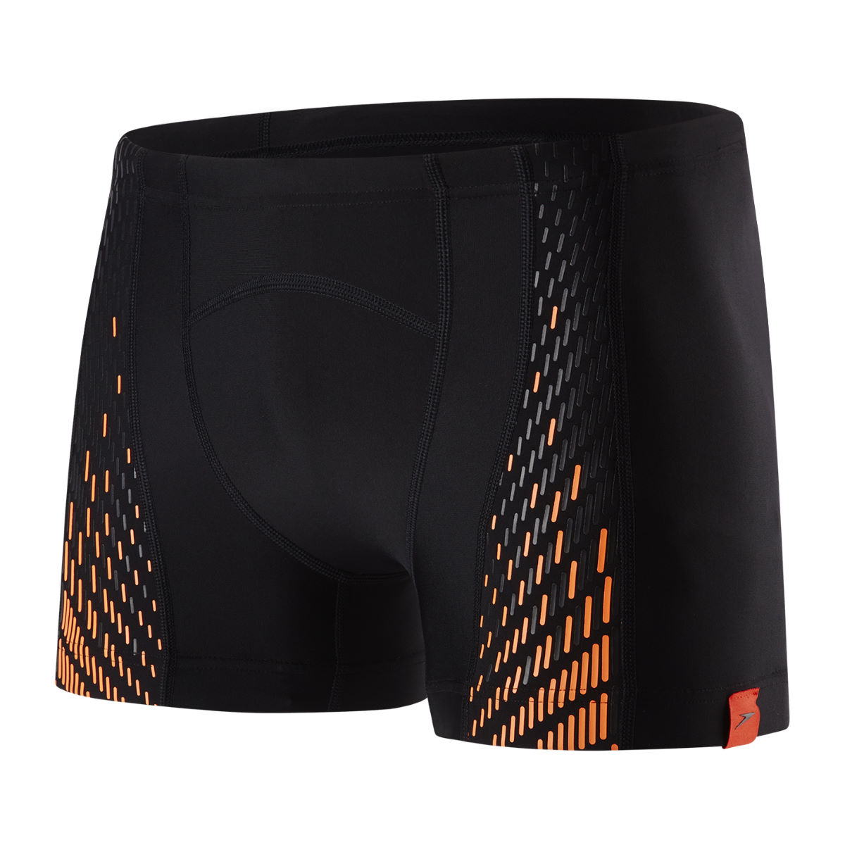 Boxer de bain Speedo Fit PowerMesh Pro - 32 Black/Fluo Orange