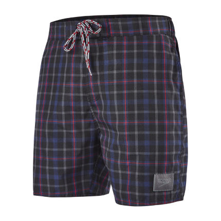 Speedo Yarn Dyed Check Leisure Badehose (ca. 40 cm)