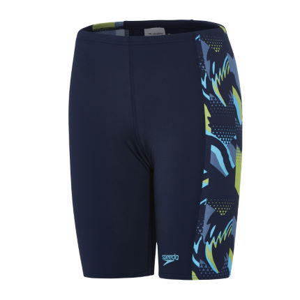 Speedo Boy's Alphablast Allover Panel Jammer