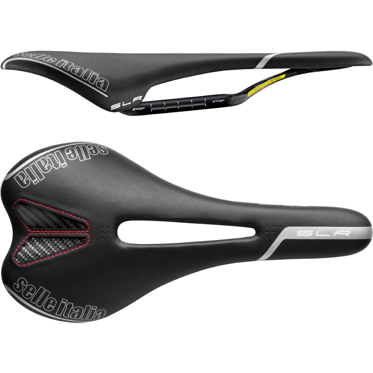 Selle Selle Italia SLR Kit Carbonio Flow - L2 BLACK