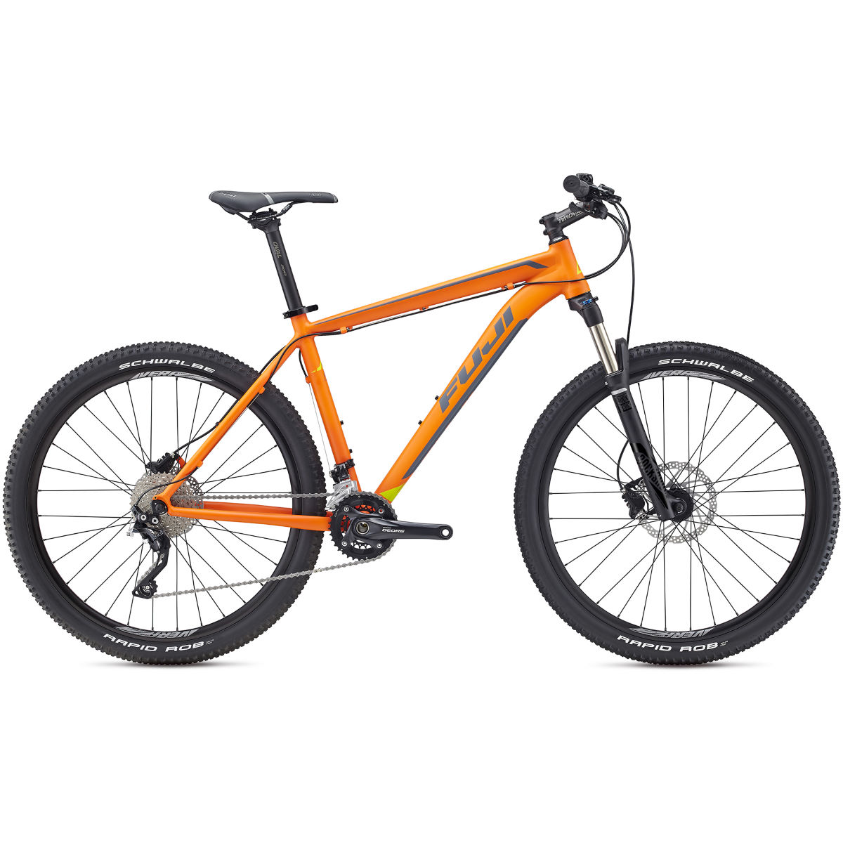 VTT semi-rigide Fuji Tahoe 27,5 pouces 1.5 (2017) - Orange/Gray